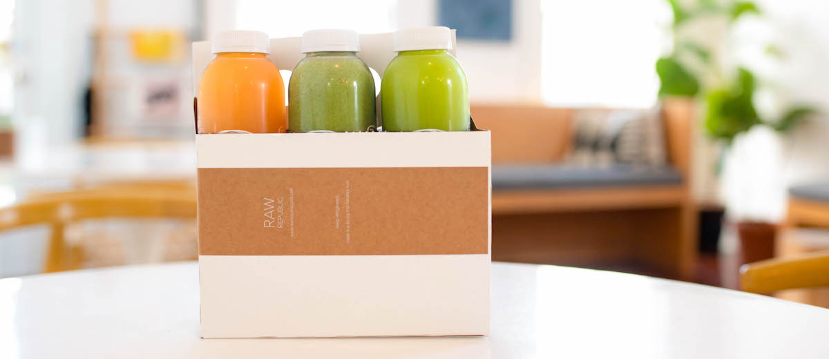 detox 6 pack cleanse kit from raw republic juices